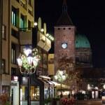 Christmas illuminations in Nuremberg, Germany — Stock Photo #7897374