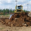 Stock Photo: Construction Work - Dozer