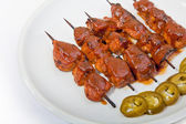 Shish taouk — Stock Photo