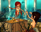 Mermaids — Foto Stock