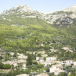View on small village Deia, Mallorca — Stock Photo