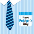 Happy father day - Stockvektor