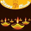 Royalty-Free Stock Vector Image: Happy diwali