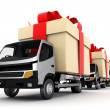 Car delivery — Stock Photo #6803664