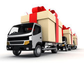 Car delivery — Stock Photo