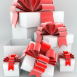 Beautiful gift box — Stock Photo