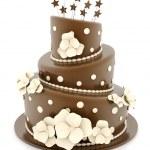 Beautiful wedding cake — Stock Photo #7151962