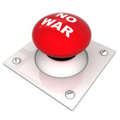 Image the red button — Stock Photo