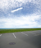 Parking lot — Stock Photo