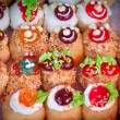 Cream donuts — Foto Stock