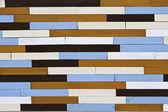 Recycle wood panel — Stock Photo