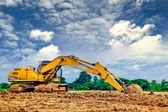 Back hoe — Stockfoto