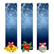 Christmas Banners. Vector Illustration. — Stock Vector