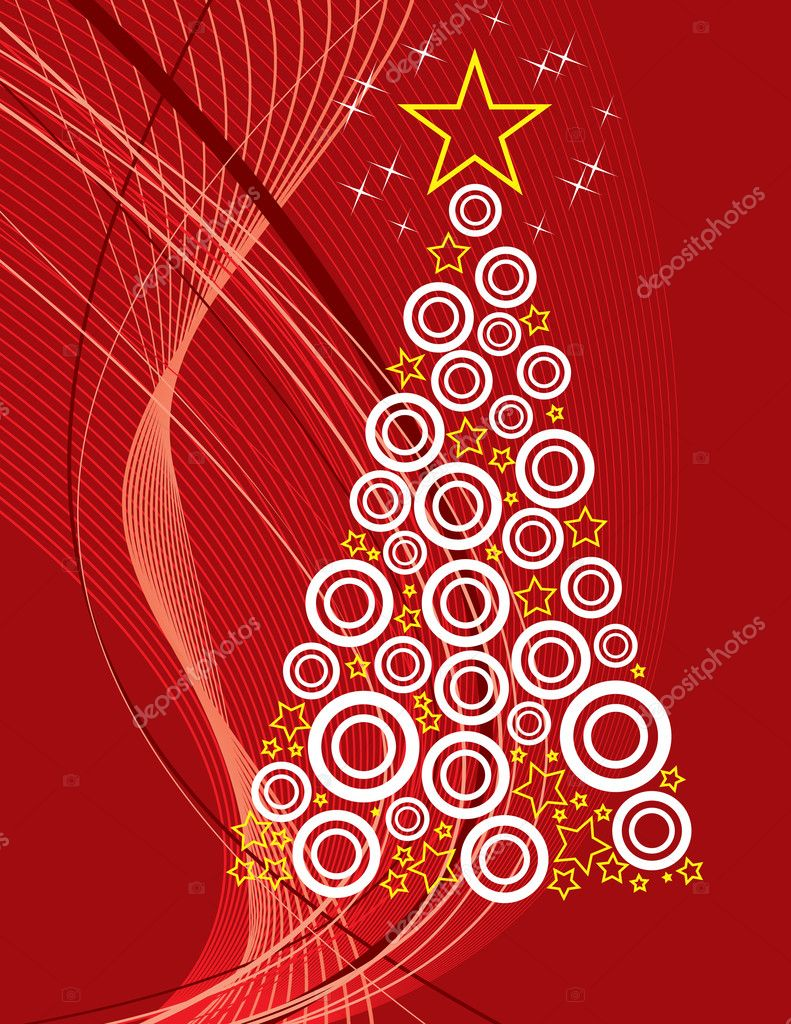 Christmas Background. Vector Illustration.  — Stock Vector #7149146