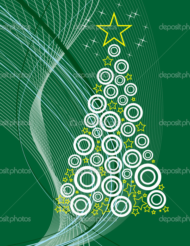 Christmas Background. Vector Illustration.   Stock Vector #7149156