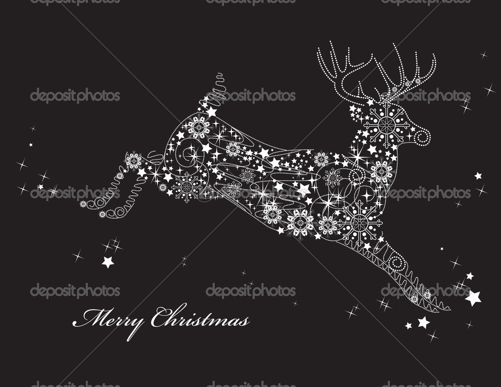 Christmas Background. Vector Illustration.  — Stock Vector #7149183