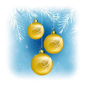 Christmas Background. Vector Illustration. — Stock Vector