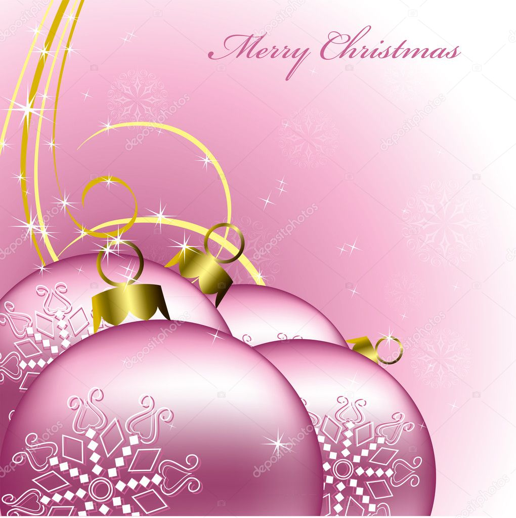 Christmas Background. Vector Illustration.   Stock Vector #7238375