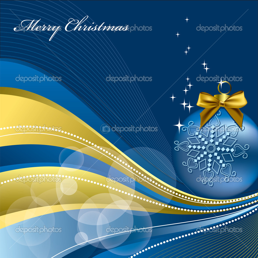 Christmas Background. Vector Illustration.  — Stock Vector #7405530