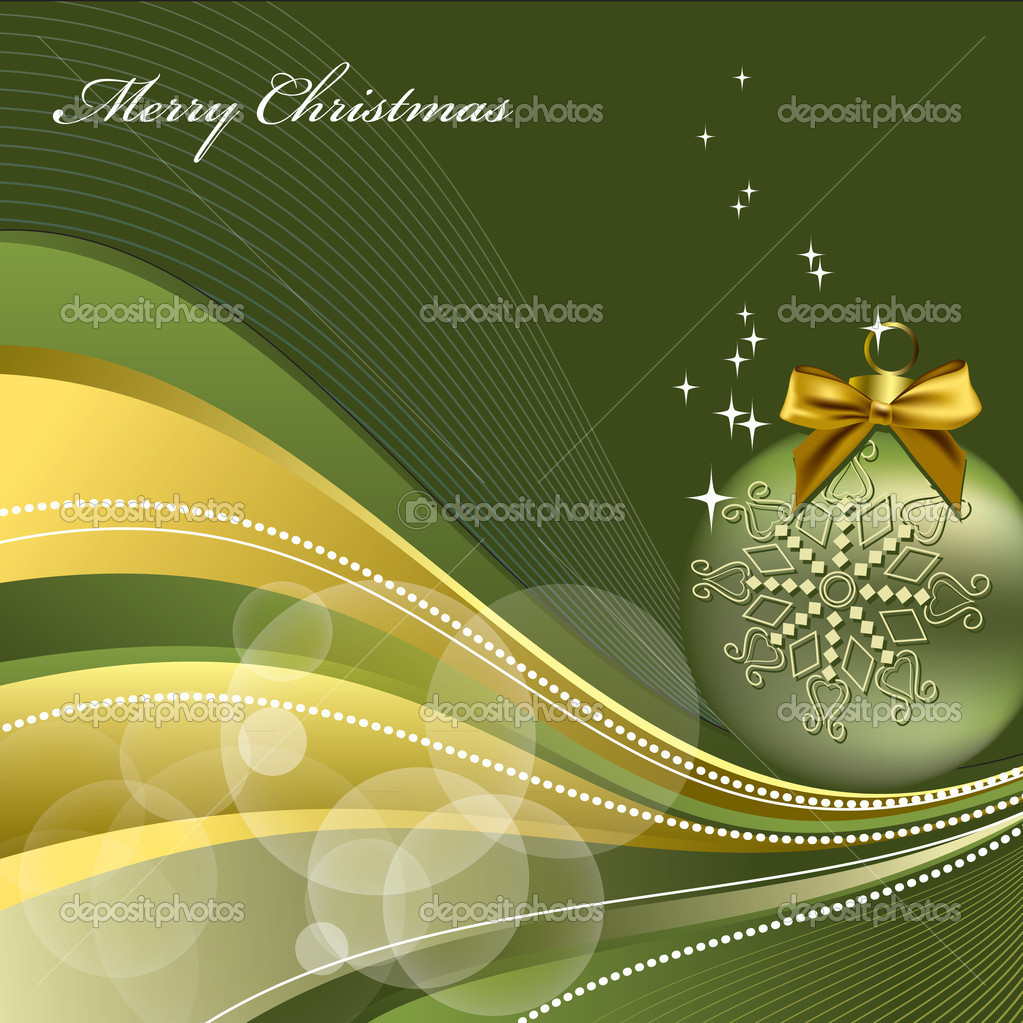 Christmas Background. Vector Illustration.  — Stock Vector #7405537