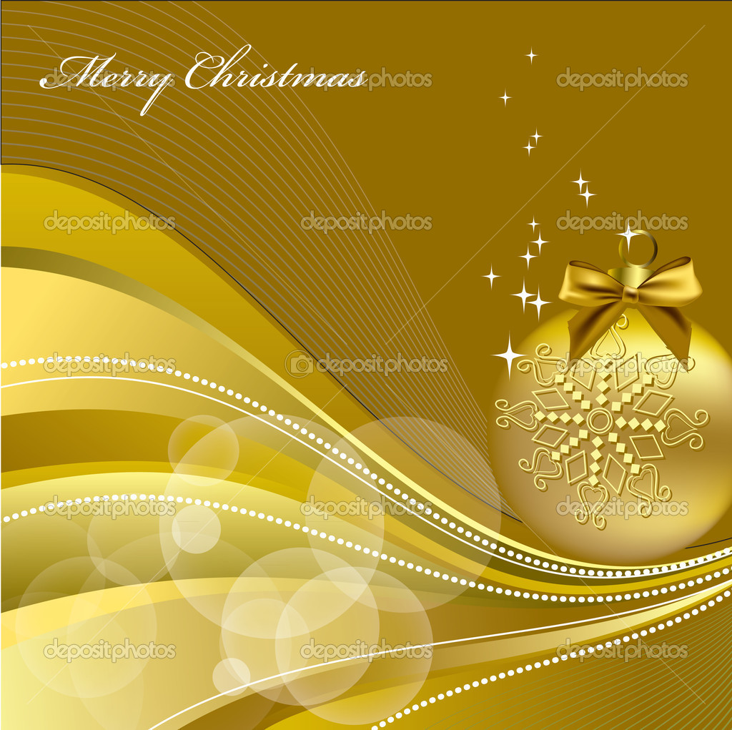 Christmas Background. Vector Illustration.   Stock Vector #7405543