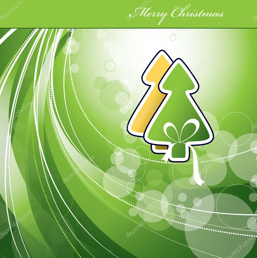 Christmas Background. Vector Illustration.  — Stock Vector #7405574