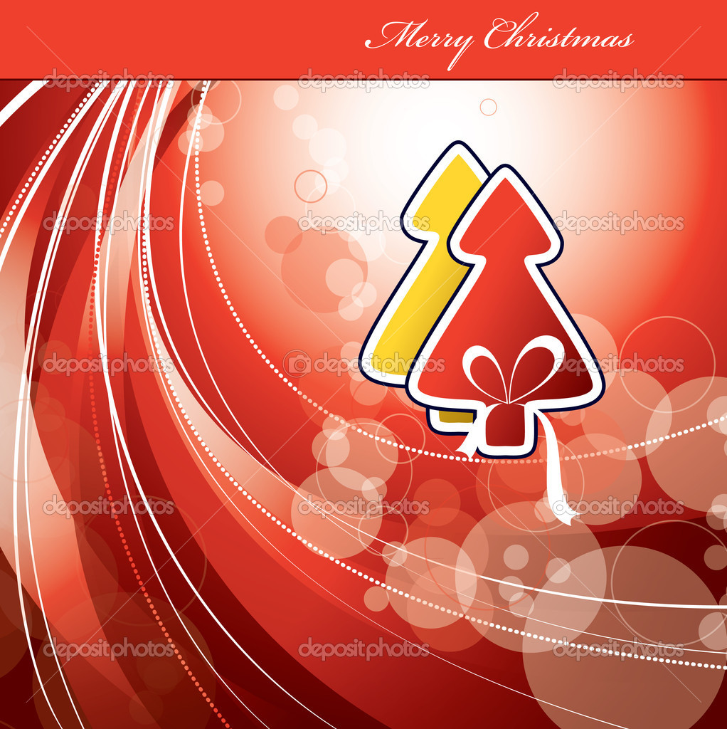 Christmas Background. Vector Illustration.  — Stock Vector #7405591