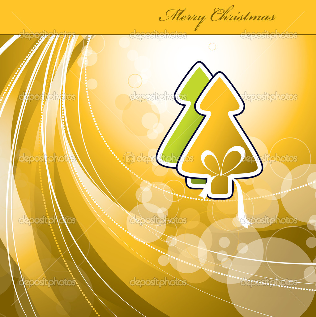 Christmas Background. Vector Illustration.  — Stock Vector #7405609