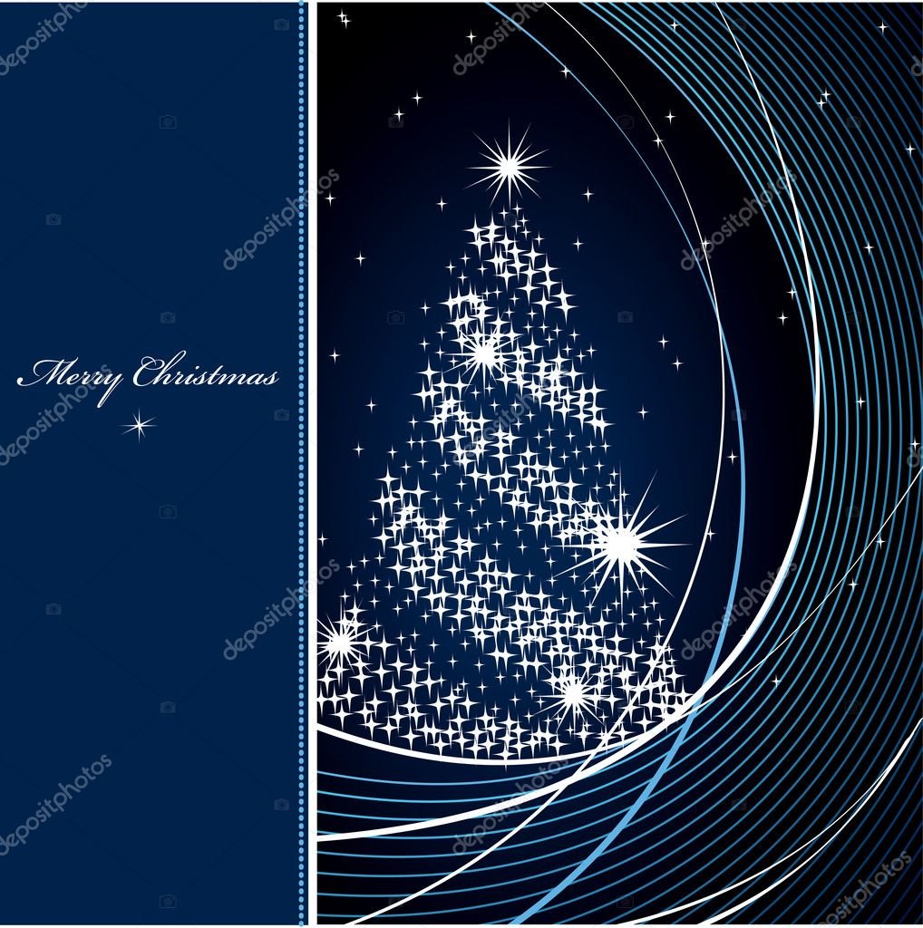 Christmas Background. Vector Illustration.  — Stock Vector #7405619