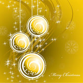Christmas Background. Vector Illustration. — Vettoriale Stock