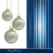Christmas Background. Vector Illustration. — Vetor de Stock