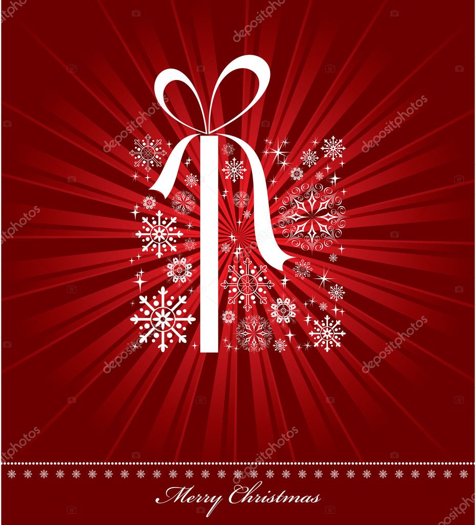 Christmas Background. Vector Illustration. — Stock Vector #7446624