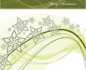 Christmas Background. Vector Illustration. — Stock vektor