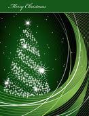 Weihnachten hintergrund. vektor-illustration. — Stockvektor