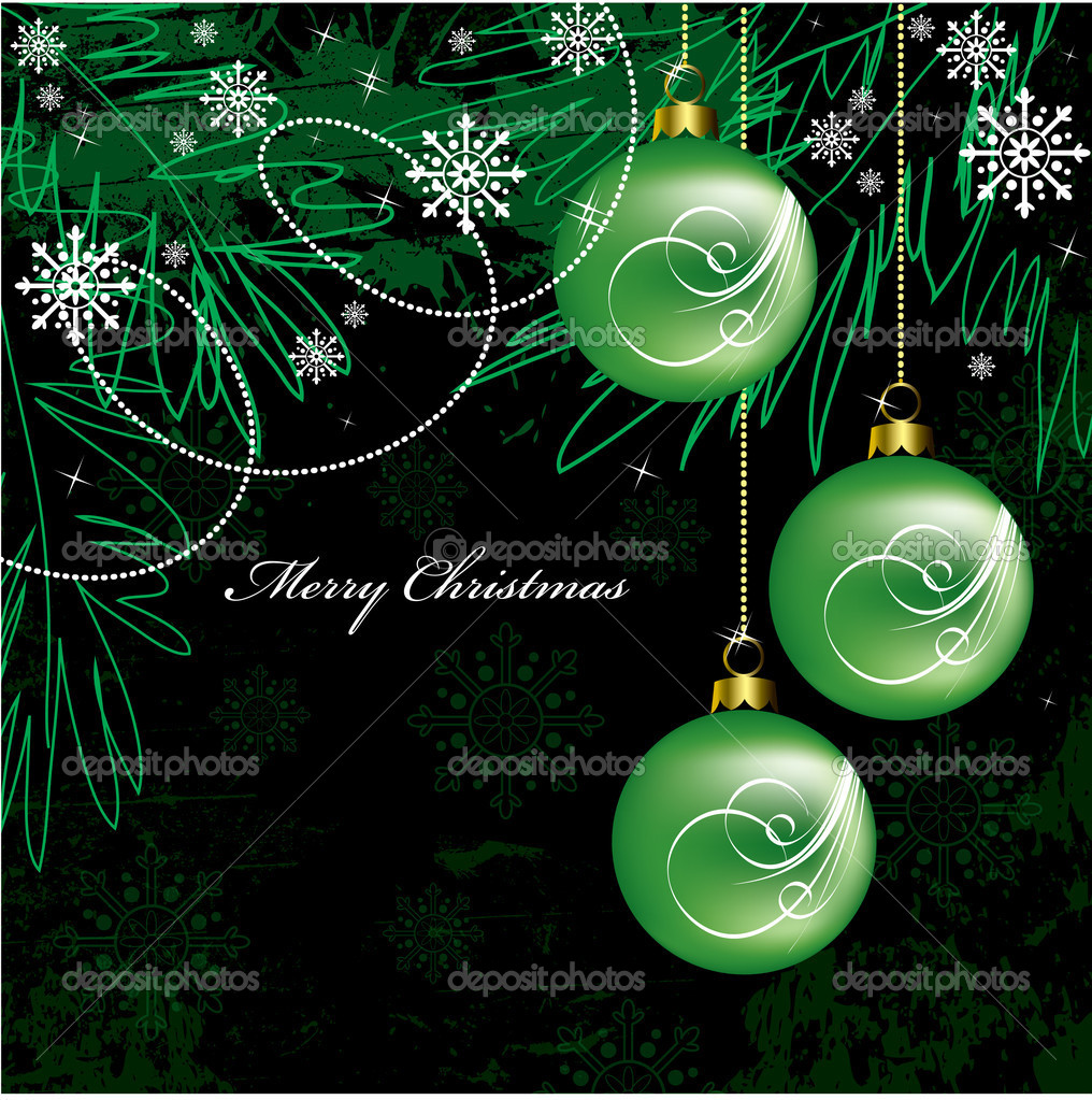 Christmas Background. Vector Illustration.  Stock Vector #7546251