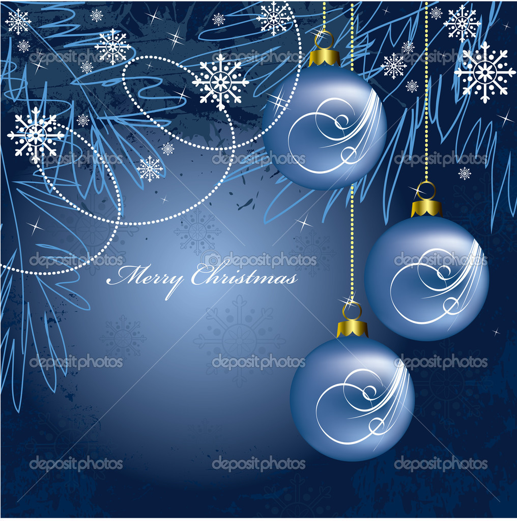 Christmas Background. Vector Illustration.  Stock Vector #7546260