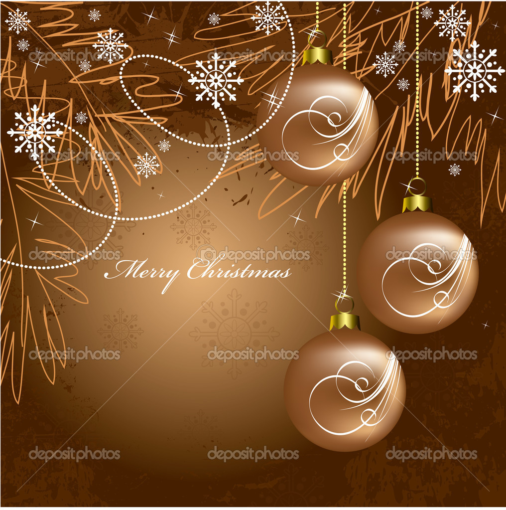 Christmas Background. Vector Illustration.  Stock Vector #7546275