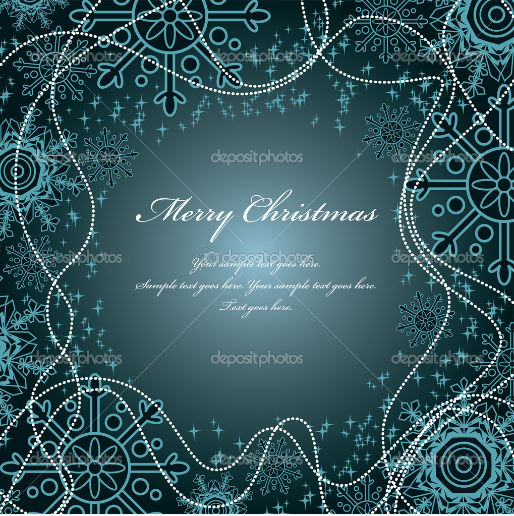 Christmas Background. Vector Illustration. — Stock Vector #7546287