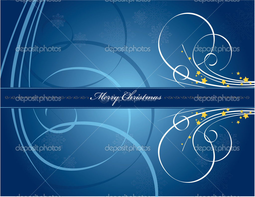 Christmas Background. Vector Illustration. — Stock Vector #7546294