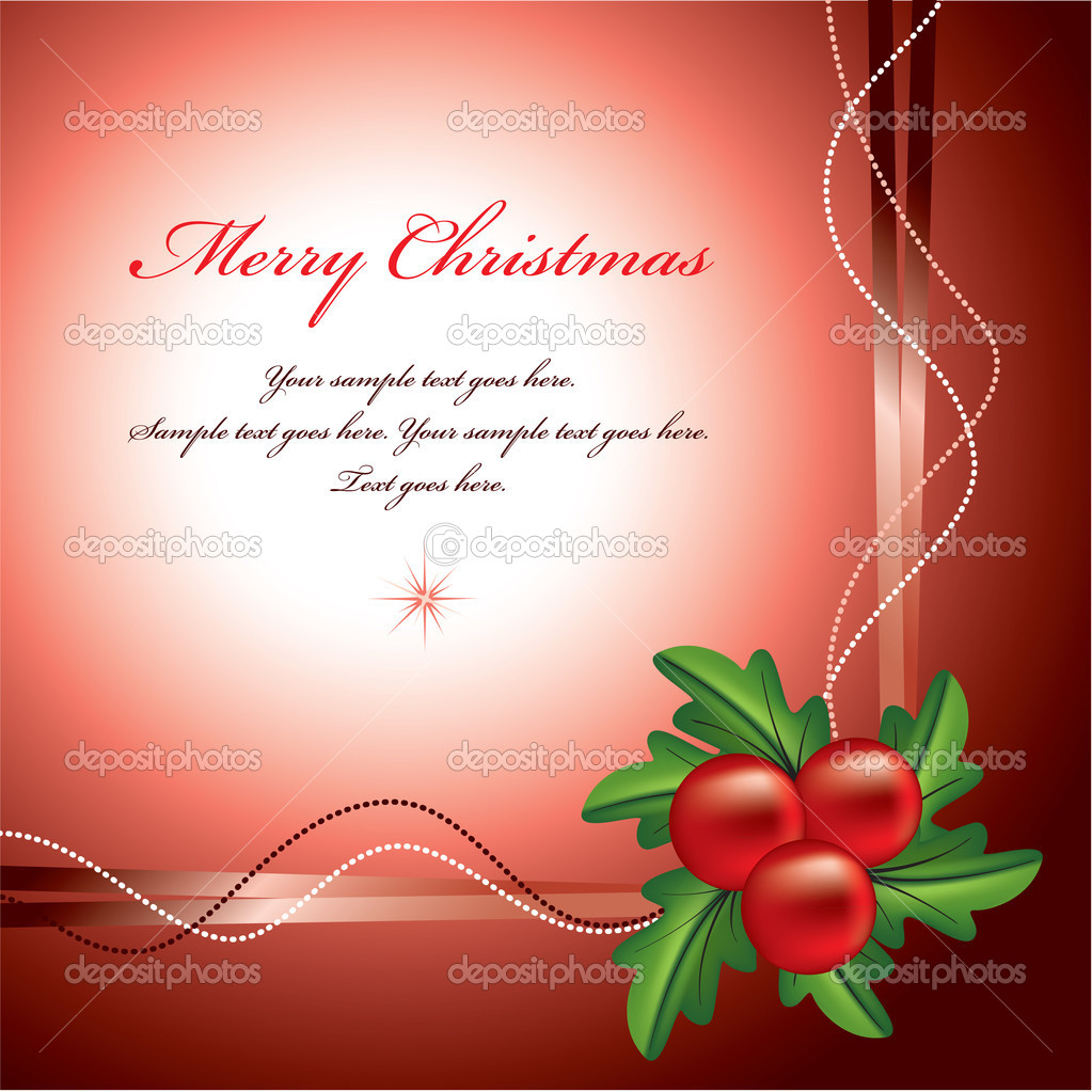Christmas Background. Vector Illustration.  Stock Vector #7636035