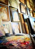 Schilderij — Stockfoto