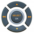 Stock Photo: Buttons select and ok