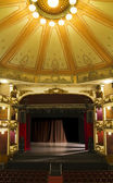 Empty stage of an old theater — Stock Photo