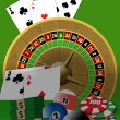 Casino theme — Stock Vector #7505053
