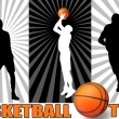 Basketball poster — Stock Vector #7689131