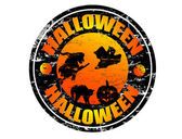 Halloween stämpel — Stockvektor