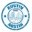Постер, плакат: Austin stamp