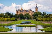 Germany Castle Schwerin — Stock Photo