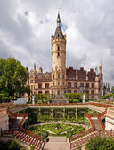 Castle in Schwerin — Stock Photo