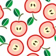 Apple background — Stockvektor #7117105